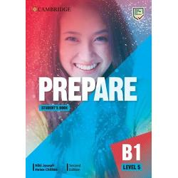 PREPARE 2nd edition Level 5 combines teen-appeal topics with extensive preparation for the revised 2020 B1 Preliminary for Schools exam Students will enjoy interactive personalised lessons with themes and resources relevant to their interests The new Life Skills approach inspires learners to expand their horizons and knowledge and includes insights from The Cambridge Framework for Life Competencies Teachers can relax knowing every unit drives students towards exam success and that the
