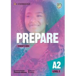 PREPARE 2nd edition Level 2 combines teen-appeal topics with gradual preparation towards the revised 2020 A2 Key for Schools exam Students will enjoy interactive personalised lessons with themes and resources relevant to their interests The new Life Skills approach inspires learners to expand their horizons and knowledge and includes insights from The Cambridge Framework for Life Competencies Teachers can relax knowing every unit drives students towards exam success and that the course