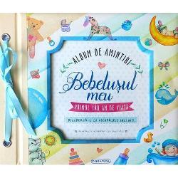 Album de amintiri: Bebelusul meu (bleu) imagine librarie clb