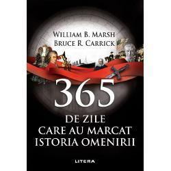 Fiecare zi a anului are o poveste de spus Cine a fost asasinat cine a urcat pe tron cine a fugit din &539;ar&259; Cine s-a n&259;scut Ce armat&259; a fost învins&259; în mod nea&537;teptat &537;i în ce loc anumeAutorii acestui volum au o abordare a istoriei dintr-un unghi mai nea&537;teptat care prezint&259; cronologic structurate pe zilele anului nu pe anii de desf&259;&537;urare evenimente cu impact asupra epocii în care s-au petrecut