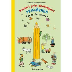 """Autoare &537;i în acela&537;i timp ilustratoare a seriei """"Hoinari prin anotimpuri""""Rotraut Susanne Berner a reinventat cartea clasic&259; de colorat pe paginilemari ale c&259;r&539;ii copiii î&537;i pot colora personajele preferate din seria HoinarilorFiecare personaj de colorat face parte dintr-o mic&259; povestioar&259; amuzant&259;Cartea mai con&539;ine• o p&259;pu&537;&259; din hârtie cu haine potrivite"""