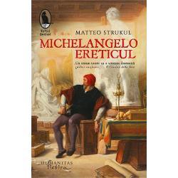 Între adev&259;r istoric &537;i inven&539;ie narativ&259; romanul lui Matteo Strukul îl aduce în prim-plan pe Michelangelo Buonarroti într-un moment de tensiune cu Biserica &537;i ne ofer&259; imaginea fascinant&259; a unui ora&537; – Roma – &537;i a unei lumi pline de conspira&539;ii &537;i tr&259;d&259;ri dar &537;i de prietenie profund&259; &537;i iubireMichelangelo ereticuleste povestea