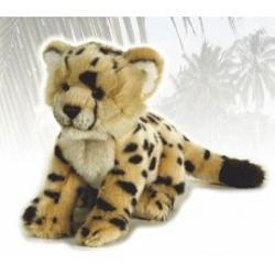 Jucarie din plus ghepard pui 23cmUn minunat cadou acest pui deghepard intruneste si cele mai exigente dorinte simpatic confectionat din materiale de cea mai buna calitate dornic de joacaSuprafata este lavabilaDimensiune cm23 cmp