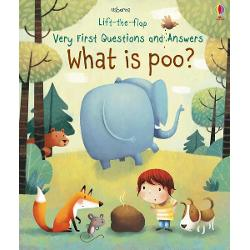 With flaps to lift on every page this delightful and funny book answers the questions that all young children ask about poo From What is poo to How Much Poo Can an Elephant Do