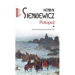 """Potopul Vol III edi&539;ie de buzunarPremiul Nobel pentru Literatur&259; 1905Traducere din limba polon&259; &537;i note de Stan Velea""""În Potopul se simte respira&355;ia uria&351;&259; a secolelor trecute Romanul este un impresionant tablou poetic un epos în genul lui Ariosto De aici asem&259;narea cu marile pînze istorice ale lui Jan Matejko Sienkiewicz nu descrie &351;i nu reface genera&355;iile apuse ci le creeaz&259; cu o"""