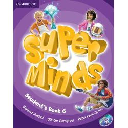 Super Minds 6 Student's Book with DVD-ROM imagine librarie clb