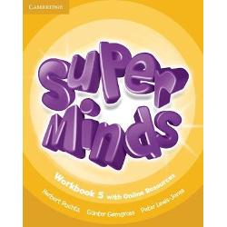 Super Minds is a seven-level course for young learners Written by a highly experienced author team Super Minds enhances your students thinking skills improving their memory along with their language skills This Level 5 Workbook includes activities to develop language creatively fascinating cross-curricular sections and lively stories that explore social values For each Students Book page this Workbook features a page of activities Students also have access to an online platform with