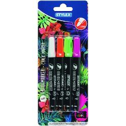 Set 4 markere cu creta 32781 imagine librarie clb