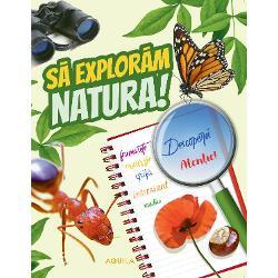 Curiozitatea copiilor mai ales la vârste fragede este foarte mare tocmai de aceea volumul de fa&539;&259; î&537;i propune s&259; le r&259;spund&259; la cât mai multe întreb&259;ri care s&259; le prezinte minunata lume a naturii De la insecte &537;i p&259;s&259;ri pân&259; la flori &537;i ciperci tinerii exploratori înva&539;&259; ce s&259; caute &537;i la ce s&259; fie aten&539;i când se afl&259; în p&259;dure parc