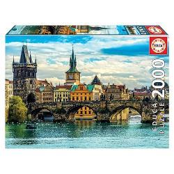 Puzzle 2000 piese Prague Views