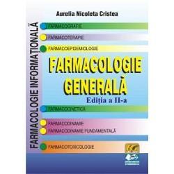 Aceasta este prima carte de Farmacologie general&259; în limba român&259; încare se trateaz&259; în exclusivitate no&355;iunile specifice &351;i legile generaleale proceselor &351;i fenomenelor farmacologiceCartea se adreseaz&259;- studen&355;ilor în Medicin&259; &351;i Farmacie încep&259;tori în &351;tiin&355;a farmacologiei;- absolven&355;ilor ce prepar&259;