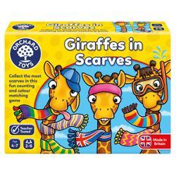 ilustratii haioase cu girafe care vor fi pe placul copiilor2-6 jucatorivarsta 4-7 aniDimensiune cutie19 x5 x4 cmCate fulare puteti colectiona pentru girafa dvs Aruncati zarul alegeti un cartonas si incepeti sa asamblati imaginea unei girafe incercand sa strangeti cat mai multe fulare la gatul girafei dvsJocul este amuzant si ii incurajeaza pe copii sa recunoasca diversele culori sa isi astepte randul la joc le