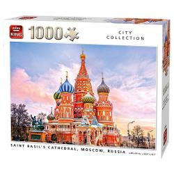 Puzzle 1000 Saint Basil's Cathedral Moscow