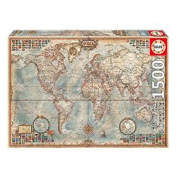 Puzzle 1500 political world map