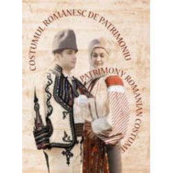 Costumul romanesc de patrimoniu legat imagine librarie clb