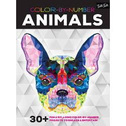 Colour-By-Number Animals 30 Fun and Relaxing Colour-by-Number Projects to Engage and Entertain
