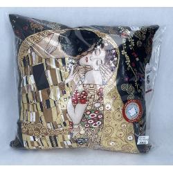 Perna Klimt Kiss negru 45x45cm 0238011 imagine librarie clb