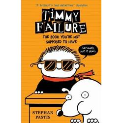 Timmy Failure. The Book you're not supposed to have imagine librarie clb