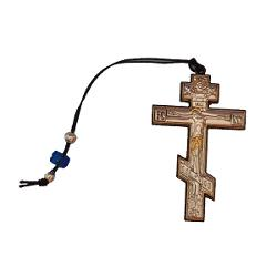 Crucifix Argintat cu snur 44×72x2cm ArgintiuDimensiuni 44×72x2cm