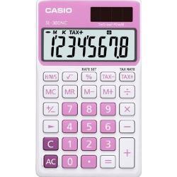 Calculator portabil cu design elegant si diverse functiiPoate calcula timpul tasta de corectie radical ecran mareLogica Casio conform tabel