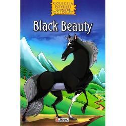 Black Beauty Povesti clasice - carte de colorat
