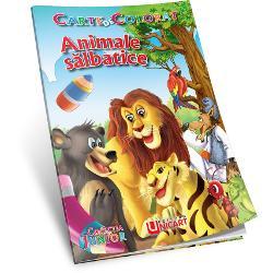 Animale Salbatice Carte de colorat B5Categorie VarstaPrescolariNumar Pagini16AutorValentin CristescuLimbaRomana