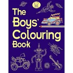 The Boys' Colouring Book imagine librarie clb