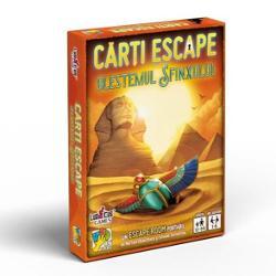 JoculBlestemul Sfinxuluieste un Escape Room portabil pentru un grup de prieteni dar pe care îl po&539;i juca &537;i singurAi visat mereu s&259; vizitezi monumentele din Egiptul antic îns&259; când începe&539;i turul de vizit&259; dintr-o dat&259; ceva impevizibil v&259; blocheaz&259; în interiorul pirmaidei Trebuie s&259; g&259;se&537;ti o cale de ie&537;ire din camera secret&259; Drumul e blocat de