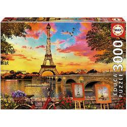 Puzzle cu 3000 piese Puzzleul asamblat are 120 x 85 cm Pentru varste de peste 12 ani