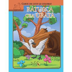 R&259;&539;u&537;ca cea urât&259; este o carte de citit &537;i colorat adresat&259; copiilor mici &537;i pre&537;colarilor