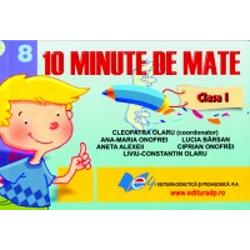 10 minute de matematica clasa I