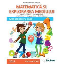 Matematica si explorarea mediului Manual pentru clasa I partea a II a  CD