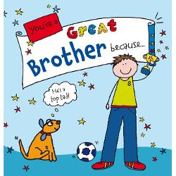 You're a Great Brother Because imagine librarie clb