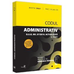 Cu modific&259;rile aduse Codului prinOUG nr 42021&537;i dispozi&539;iilor de aplicare prinHG nr 662021Codul administrativ cuprinde 10 p&259;r&355;i &351;i 6 anexe Este în opinia noastr&259; o structur&259; acoperitoare pentru toate marile domenii ale dreptului administrativConstat&259;m c&259; nu este vorba cum încearc&259; s&259;