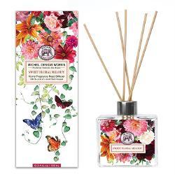 Difuzorul nostrude deodorant de camera este format dintr-un decantor de sticl&259; elegant &537;i 8 betisoareDETALIIVolum de ulei de parfum 100 ml Dimensiune cutie 89 x 67 x 2286 cmAROM&258;Buchet de flori albe &537;i tuberoz&259; cu un strop de miere nuc&259; de cocos &537;i mimoz&259;