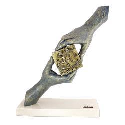 Statueta din rasina fabricata manual in Spania