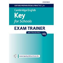 Oxford Cambridge English Key for Schools A2 Exam Trainer with 7 practice tests imagine librarie clb