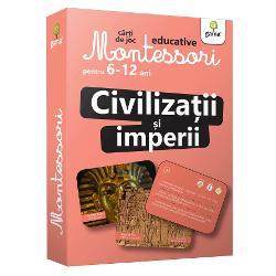 Pachetul ofer&259; o prezentare inedit&259; a celor mai importante civiliza&539;ii regate &537;i imperii din istorie Cardurile stimuleaz&259; curiozitatea &537;i dorin&539;a de a &537;ti mai multe despre civiliza&539;iile de mult apuse despre imperiile care au dominat lumea &537;i despre unele dintre cele mai important personaje istorice Acum ave&539;i la îndemân&259; un material enciclopedic practic cu informa&539;ii interesante imagini extraordinare &537;i
