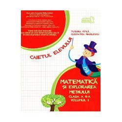 Matematica si explorarea mediului caiet clasa a II a partea I