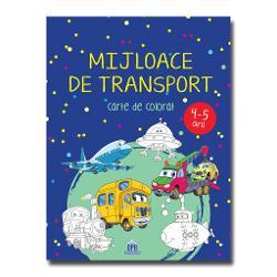 Mijloace de transport – carte de colorat îi va încânta pe copii &537;i îi va face s&259;-&537;i dea frâu liber imagina&539;iei &537;i laturii artistice Se adreseaz&259; copiilor cu vârstele cuprinse între 4 &537;i 5 aniColorând aceast&259; carte plin&259; cu mijloace de transport copiii se vor relaxa &537;i î&537;i vor dezvolta creativitatea &537;i concentrareaDesenele îi încurajeaz&259;