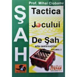 Tactica jocului de sah. Arta combinatiilor volumul II + CD imagine librarie clb