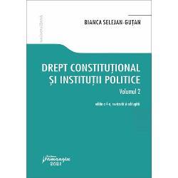 Drept constitutional si institutii politice volumul II (editia a IV a) imagine librarie clb