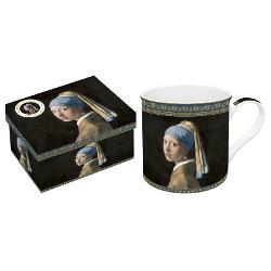 Cana portelan 0300l Vermeer fata cu cercel de perla R0170VER1
