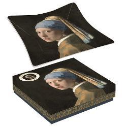 Bol Vermeer fata cu cercel de perla 13x13cm RO634VER1