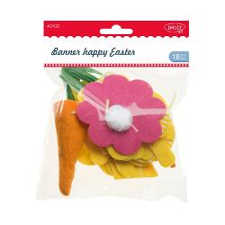 Accesorii craft - AD922 banner happy easter Daco imagine librarie clb
