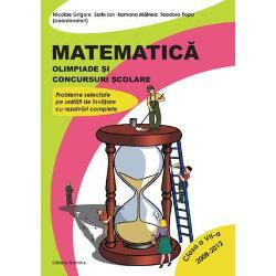 Matematica - Olimpiade si concursuri scolare clasa a VII-a