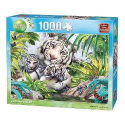 Puzzle 1000 piese Tigru Siberian KG05486 imagine librarie clb