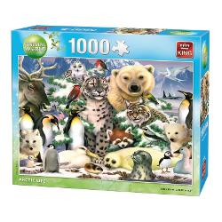 Puzzle 1000 piese Animal world-Arctic life KG05485 imagine librarie clb
