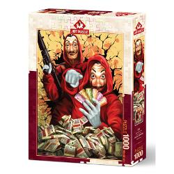 PUZZLE 1000 PIESE - LA CASA DE PAPEL AP5195 imagine librarie clb