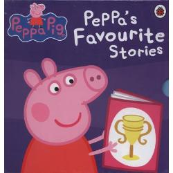 Peppa s favourite stories ,10 carti in cutie imagine librarie clb